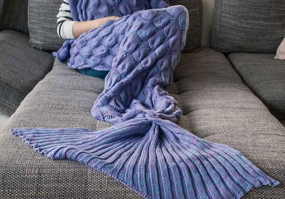 Gewinnt eine Meerjungfrauen Decke