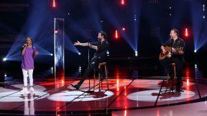 "Das Finale: ""The Boss Hoss"" im Duett mit der ""Krankenschwester"". Foto: TVNOW / Frank W. Hempel"