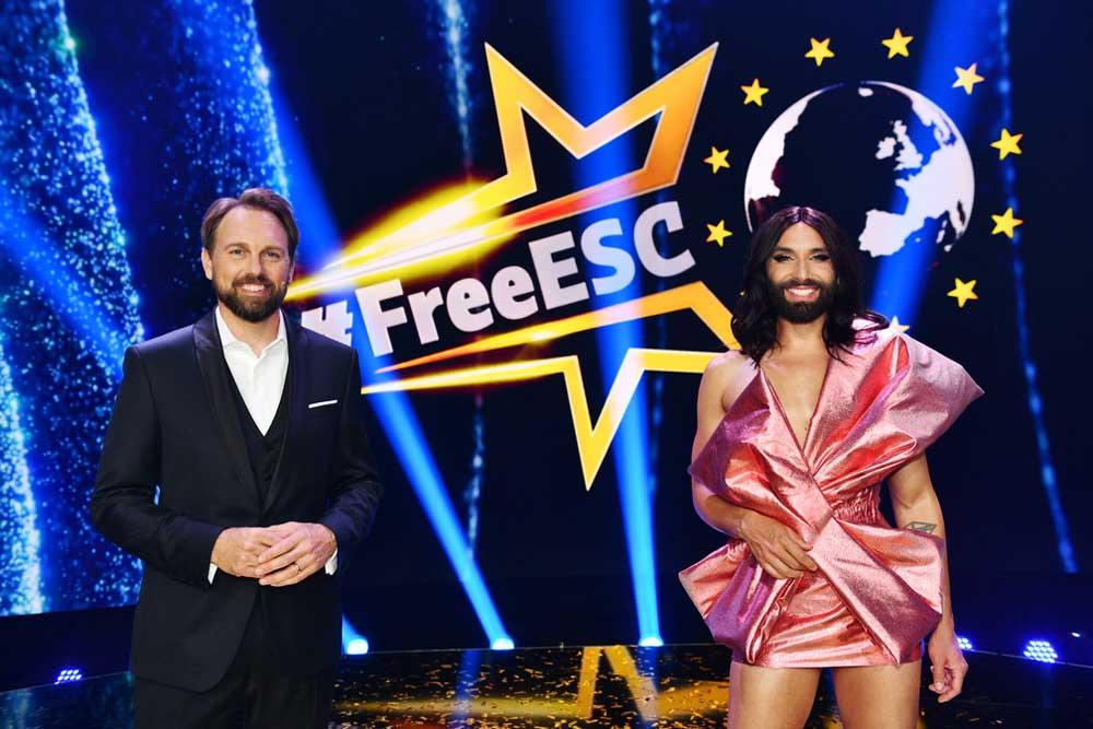 """Heute Abend: der """"Free European Songcontest"""""""