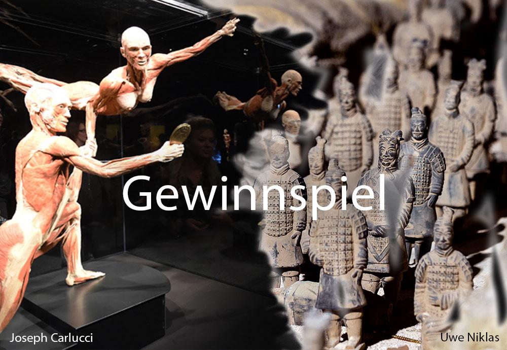 Gewinnt 2 x 3 Tickets für Körperwelten und die Terrakotta Armee in Mülheim!